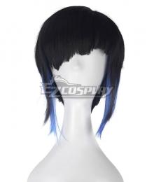 Ghost in the Shell Motoko Kusanagi Multicolor Cosplay Wig