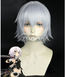 Fate Apocrypha Assassin of Black Jack the Ripper Mixed white Cosplay Wig