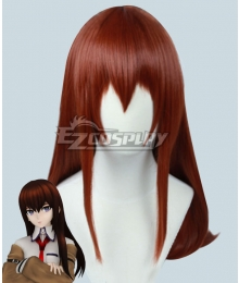 Steins;Gate Steins Gate Kurisu Makise Brown Cosplay Wig