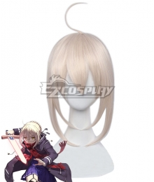 Fate Grand Order Mysterious Heroine X Alter Light Golden pink Cosplay Wig