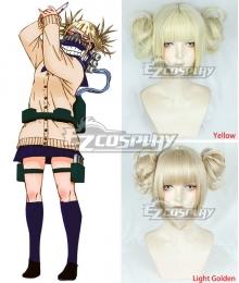 My Hero Academia Boku no Hero Akademia Himiko Toga Yellow Cosplay Wig