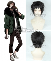 My Hero Academia Boku no Hero Akademia Kai Chisaki Overhaul Black brown Cosplay Wig
