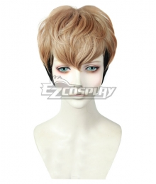 Killing Stalking Oh Sangwoo Brown Black Cosplay Wig