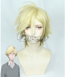 Hitorijime My Hero Setagawa Masahiro Light Golden Cosplay Wig