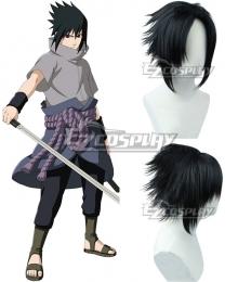 Naruto Sasuke Uchiha Black Cosplay Wig