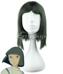 Hayao Miyazaki Spirited Away Haku Spirit Of The Kohaku River Deep Green Cosplay Wig