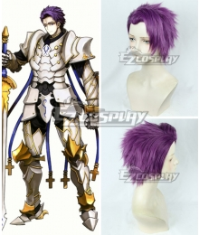 Fate Grand Order Lancelot Purple Cosplay Wig
