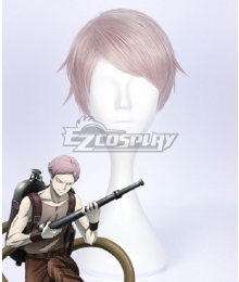 Juuni Taisen Elder Brother Tatsumi Snake Elder Brother Tatsumi Dragon Pink Cosplay Wig
