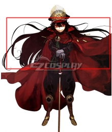 Fate Grand Order Oda Nobunaga Black Cosplay Wig