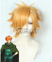 Fate EXTRA Last Encore Archer Robin Hood Orange Cosplay Wig