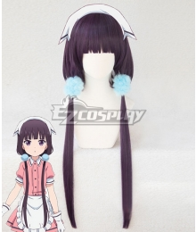 Blend·S Burendo Esu Maika Sakuranomiya New Purple Cosplay Wig - Only Wig