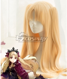 Fate Grand Order Lancer Ereshkigal Golden Cosplay Wig
