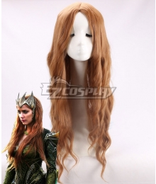 DC Justice League Movie Mera Orange Cosplay Wig