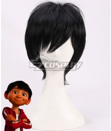 Disney Coco Miguel Rivera Black Cosplay Wig