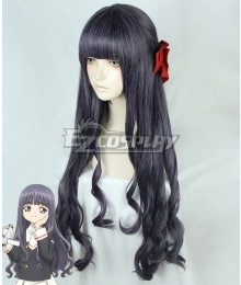 Cardcaptor Sakura: Clear Card Tomoyo Daidouji Deep Purple Cosplay Wig - Only Wig