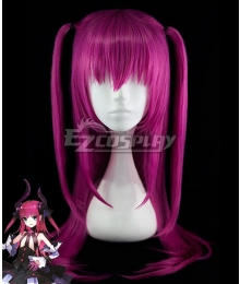 Fate EXTRA CCC Lancer Elizabeth Bathory Purple Cosplay Wig