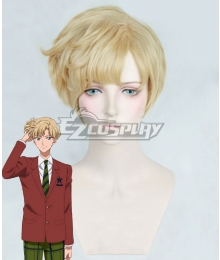 Sailor Moon Haruka Tenou Golden Cosplay Wig