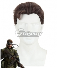 Metal Gear Big Boss Brown Cosplay Wig