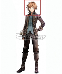 God Eater 2 Male Protagonist Captain Vice Captain Orange Cosplay Wig
