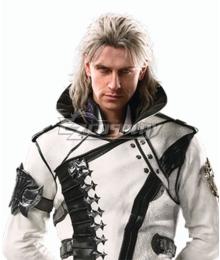 Final Fantasy XV Ravus Nox Fleuret Silver Grey Cosplay Wig