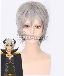 How NOT To Summon A Demon Lord Isekai Maou To Shoukan Shoujo Dorei Majutsu Takuma Sakamoto Diablo Silver White Cosplay Wig