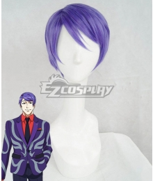 Tokyo Ghoul Shuu Tsukiyama Purple Cosplay Wig