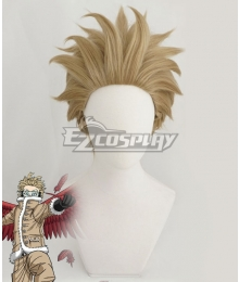 My Hero Academia Boku No Hero Akademia Hawks Light Brown Cosplay Wig