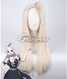 Fairy Tail Mirajane Strauss Silver White Cosplay Wig