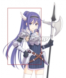 Princess Connect! Re:Dive Mifuyu Ogami Purple Cosplay Wig