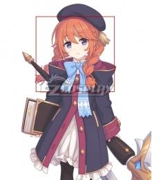 Princess Connect! Re:Dive Yuni Shingyoji Orange Cosplay Wig