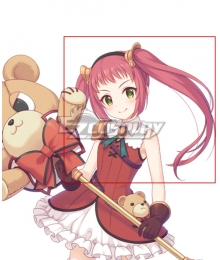 Princess Connect! Re:Dive Ayane Hojo Red Cosplay Wig