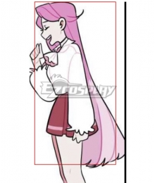 Lovestruck Angie Pink Cosplay Wig