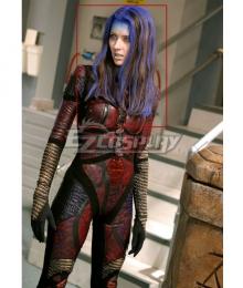 Amy Acker Angel Illyria Brown Purple Cosplay Wig