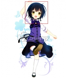 Gochuumon wa Usagi Desu ka? Is the Order a Rabbit? Joga Maya Blue Cosplay Wig