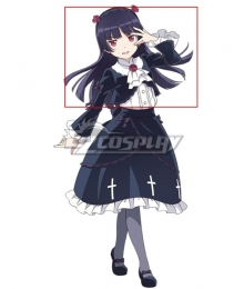 Oreimo My Little Sister Can't Be This Cute Ruri Goko Purple Cosplay Wig