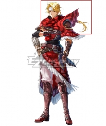 Fire Emblem Heroes Perfect Shot Jeorge Golden Cosplay Wig