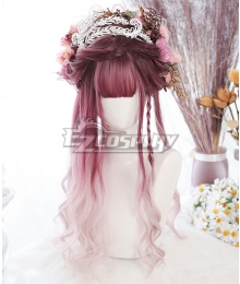 Japan Harajuku Lolita Series Admiration Purple Cosplay Wig