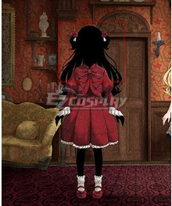 Shadows House Kate Black Cosplay Wig