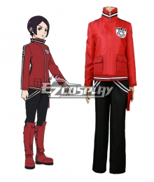 World Trigger BORDER Arashiyama Jun Ai Kitora Mitsuru Tokieda Cosplay Costume