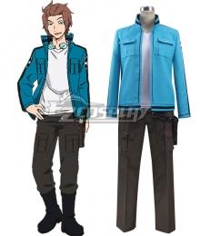 World Trigger Yuichi Jin Uniform Cosplay Costume