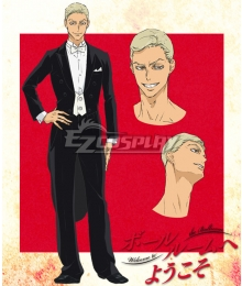 Welcome to the Ballroom Kaname Sengoku Cosplay Costume