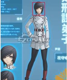 Akudama Drive Execution Division Apprentice Black Cosplay Wig