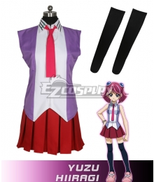 Yu-Gi-Oh! Yugioh ARC-V Yuzu Hiragi Cosplay Costume