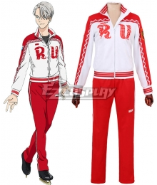 Yuri on Ice YURI!!!on ICE Victor Nikiforov Sportswear Suit Cosplay Costume
