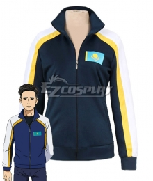 Yuri on Ice YURI!!!on ICE Otabek Altin Sport Coat Cosplay Costume