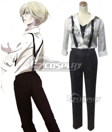 Yuri on Ice YURI!!!on ICE Plisetsky Yuri White Cosplay Costume