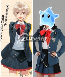 Youth Start! Seishun Hajimemashita! Futaba Chitose Cosplay Costume