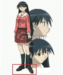 Azumanga Daioh Sakaki Black Cosplay Shoes