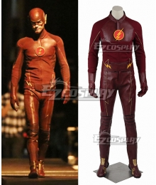 DC The Flash Season 1 Bartholomew Henry Barry Allen Cosplay Costume