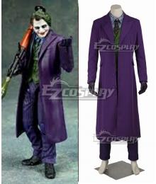 DC Batman The Dark Knight The Joker Full Suit Cosplay Costume